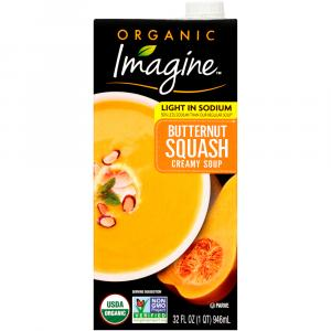 Imagine Organic Lower Sodium Creamy Butternut Squash Soup