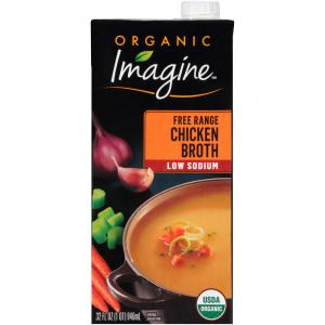 Imagine Organic Low Sodium Chicken Broth