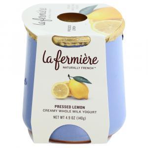 La Fermiere Pressed Lemon Creamy Whole Milk Yogurt