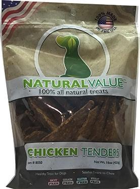 Natural Value Chicken Tenders Dog Treats