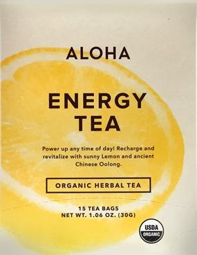 Aloha Organic Energy Tea Bags