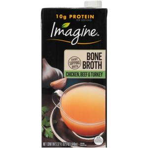 Imagine Bone Broth Chicken Beef & Turkey