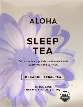 Aloha Organic Sleep Tea Bags