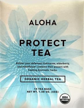 Aloha Organic Protect Tea Bags