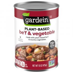 Gardein Plant-Based Be'f Vegetables Soup