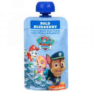 Paw Patrol Organic Bold Blueberry Mixed Fruit Puree