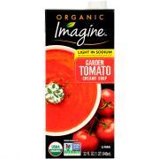 Imagine Organic Light in Sodium Garden Tomato Creamy Soup
