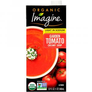 Imagine Organic Light in Sodium Garden Tomato Creamy Soup