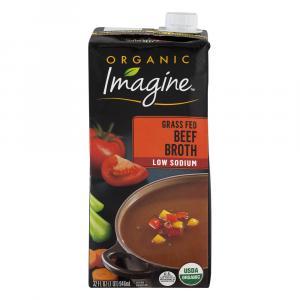 Imagine Organic Low Sodium Grass Fed Beef Broth