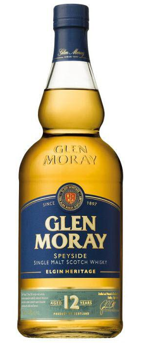 Glen Moray Aged 12 Years Single Malt Scotch Whisky