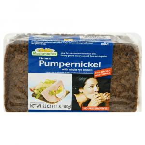 Mestermacher Natural Pumpernickel Bread