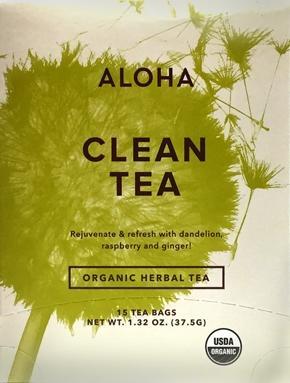Aloha Organic Clean Tea Bags