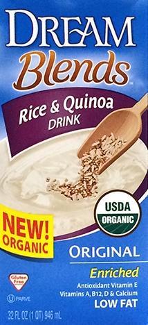 Dream Blends Rice & Quinoa Organic Drink