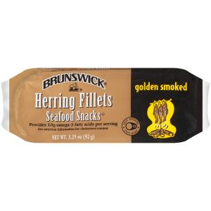 Brunswick Herring Fillets Seafood Snacks
