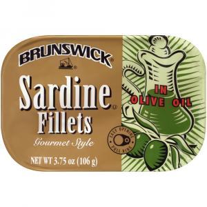 Brunswick Sardine Fillets in Olive Oil