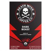 Death Wish Coffee Company Single Serve Cups