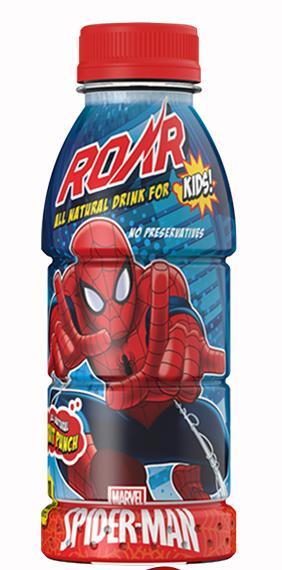 Roar Spiderman Fruit Punch Drink