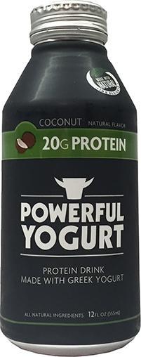 Powerful Yogurt Coconut Protein Drink