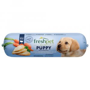 Freshpet Select Adult Puppy Chicken Vegetable Rice Dinner