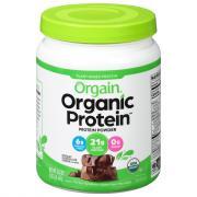 Orgain Organic Protein Powder Creamy Chocolate Fudge