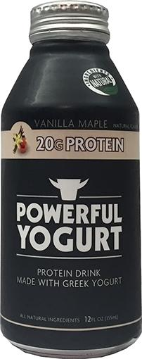Powerful Yogurt Vanilla Maple Protein Drink
