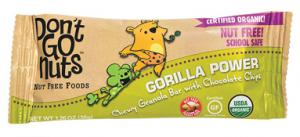 Don't Go Nuts Organic Gorilla Power Chewy Granola Bar