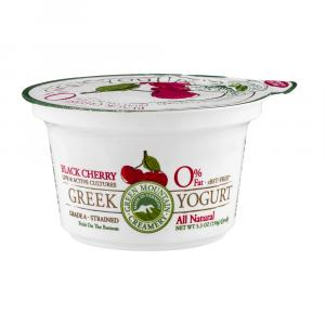 Green Mountain Creamery Greek Black Cherry Yogurt 0% Fat