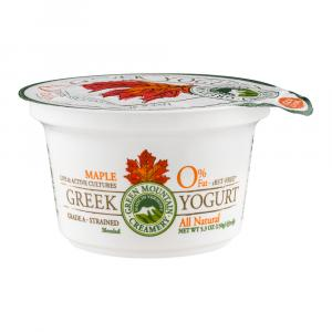 Green Mountain Creamery Nonfat Greek Maple Yogurt