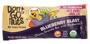 Don't Go Nuts Organic Blueberry Blast Chewy Granola Bar