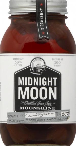 Midnight Moon Strawberry Vodka