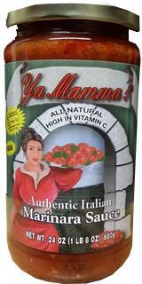 Ya Mamma's Marinara Pasta Sauce