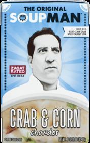The Original Soupman Crab & Corn Chowder