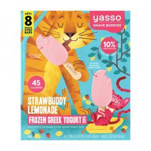 Yasso Frozen Greek Yogurt Bars Strawbuddy Lemonade