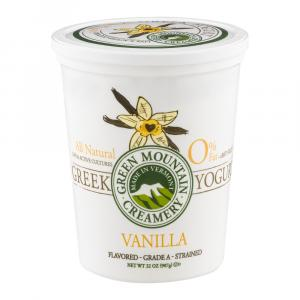 Green Mountain Creamery Vanilla 0% Fat Greek Yogurt
