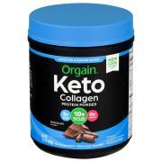 Orgain Keto Chocolate Collagen Protein Powder