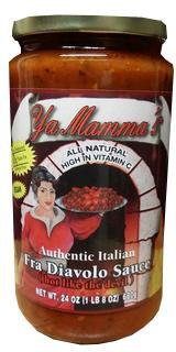 Ya Mamma's Fra Diavolo Pasta Sauce