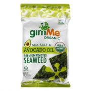 GimMe Organic Sea Salt & Avocado Oil Premium Roasted Seaweed