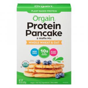 Orgain Protein Whole Wheat & Oat Pancake & Waffle Mix