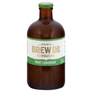 Brew Dr. Kombucha Organic Mint Lemonade