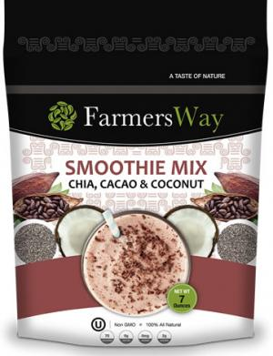 Farmer's Way Smoothie Mix Chia, Cacao & Coconut