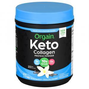 Orgain Keto Vanilla Collagen Protein Powder