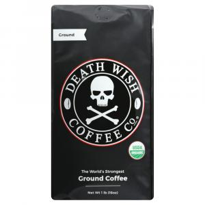 Death Wish Coffee Company Ground Coffee