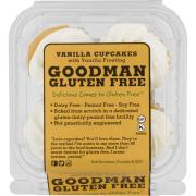 Gluten Free Vanilla Cupcakes with Vanilla Icing