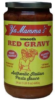 Ya Mamma's Smooth Red Gravy Pasta Sauce