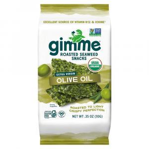 Gimme Organic Extra Virgin Olive Oil Premium Roasted Seaweed