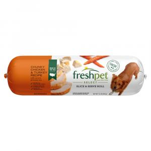 Freshpet Select Adult Chunky Chicken Turkey Vegetable Rice