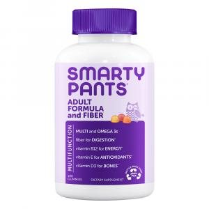 Smarty Pants Adult Complete Multi + Fiber Supplement