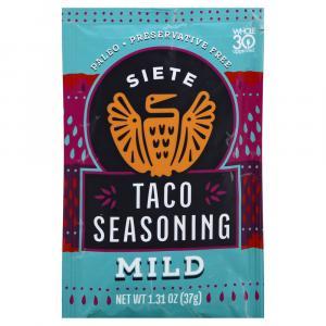 Siete Taco Seasoning Mild