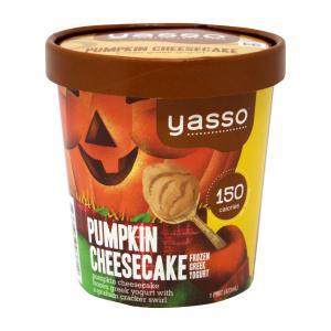 Yasso Seasonal Pumpkin Cheesecake Frozen Greek Yogurt