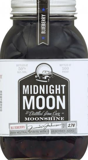 Midnight Moon Blueberry Vodka